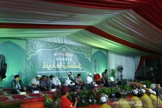 Polres Jaksel perkuat Kambtimas gelar Jakarta Bersholawat
