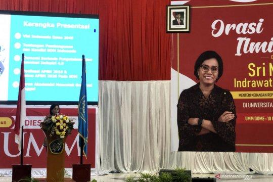 Sri Mulyani beberkan program pemerintah di hadapan ribuan mahasiswa