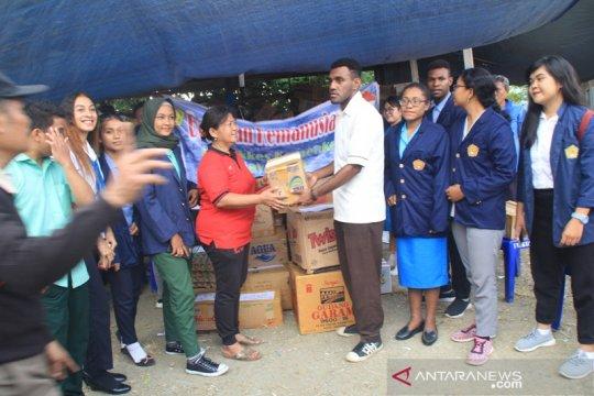 Papua Terkini - Mahasiswa Poltekes kumpulkan bantuan pengungsi Wamena