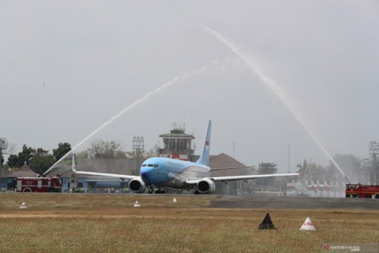 TNI AU beri penghormatan jelang purna tugas Wapres JK