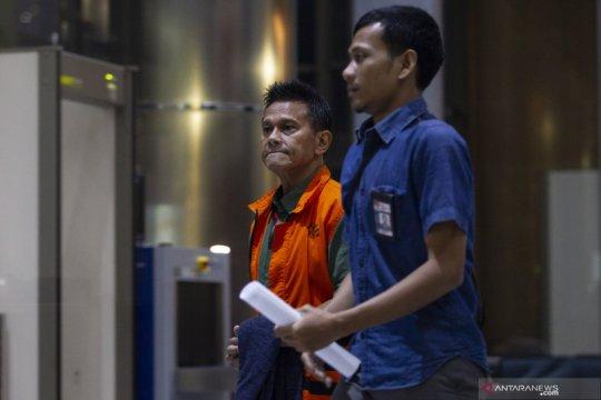 KPK memanggil mantan Dirut PT Mugi Rekso Abadi Soetikno Soedarjo