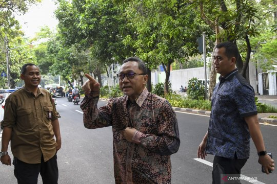 Pimpinan MPR sambangi kediaman Megawati