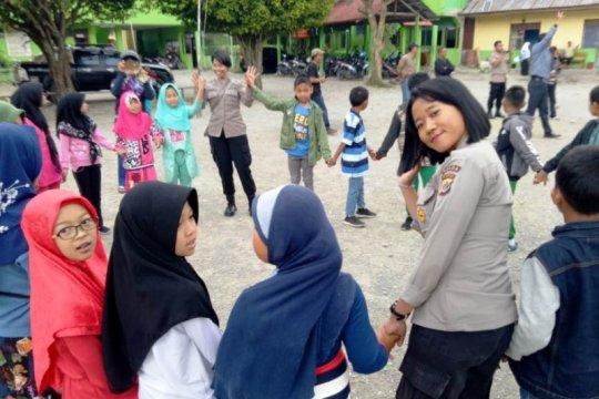 Polda Papua kembali berikan pemulihan trauma murid SD Wamena