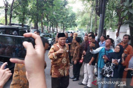Pimpinan MPR temui Megawati