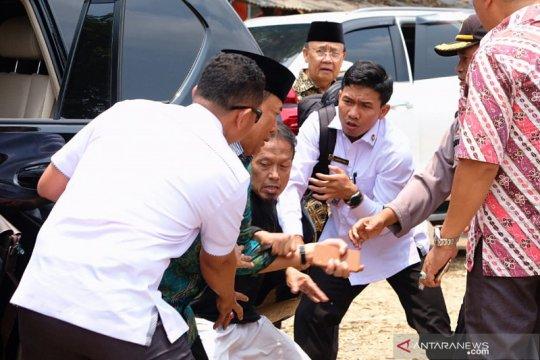 Menko Polhukam Wiranto diserang di Pandeglang