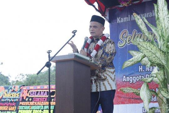 Anggota DPR RI janji perjuangkan air bersih bagi masyarakat Aceh Besar