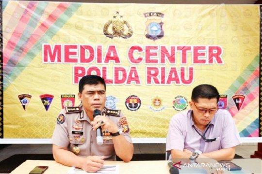 Polisi turunkan tim ahli dan drone khusus selidiki karhutla Riau