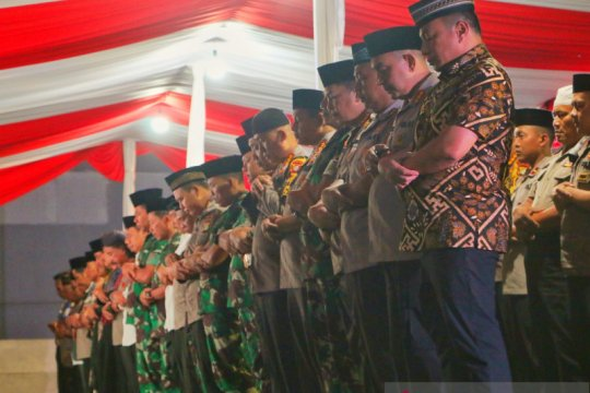 Polda Metro Jaya gelar doa bersama demi kedamaian Indonesia