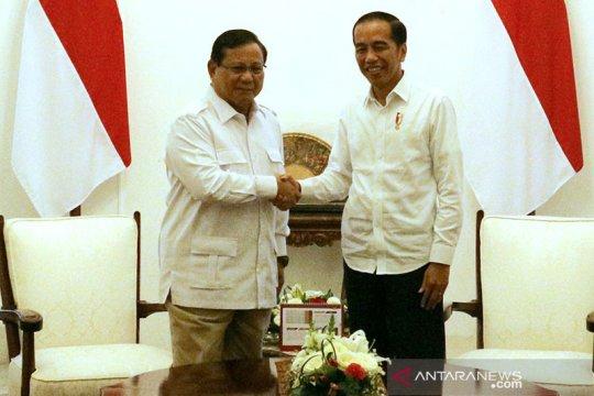 Prabowo tiba di Istana Merdeka disambut Mensesneg