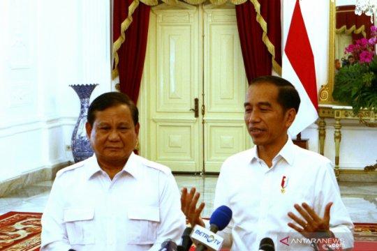Jokowi-Prabowo bahas potensi koalisi Gerindra