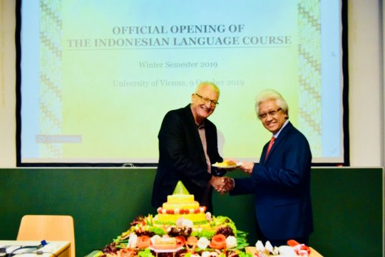 Bahasa Indonesia diajarkan di universitas Wina Austria
