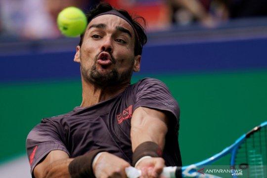 Positif COVID-19, Fognini mundur dari turnamen Sardinia Open