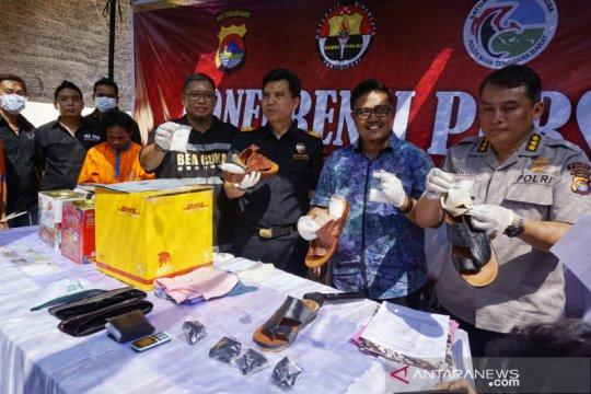 Polda NTB amankan setengah kilogram sabu asal Thailand