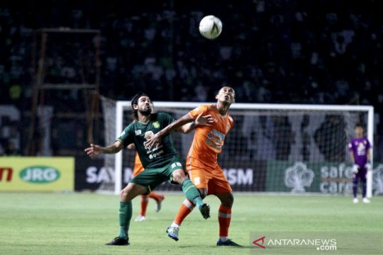 Borneo FC puas tahan imbang Persebaya