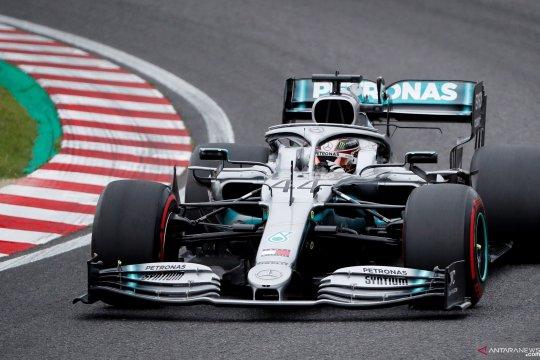 Latihan jelang F1 GP Jepang