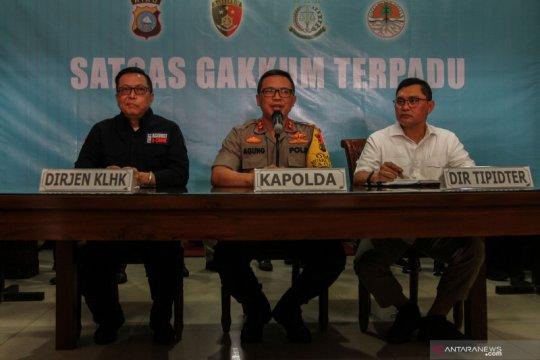 Polda Riau sudah tetapkan 70 tersangka karhutla termasuk korporasi