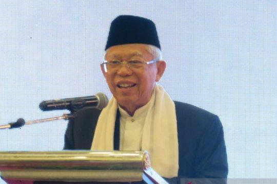 KH Ma'ruf Amin tegaskan tetap menjabat Ketua Umum MUI