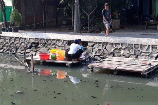 Kali Maja mulai dimanfaatkan warga setelah hujan