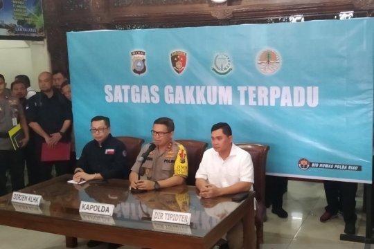 Bareskrim KLHK kolaborasi selidiki karhutla di konsesi korporasi Riau