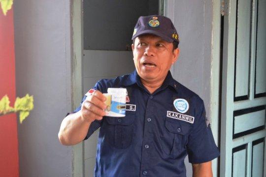 358 petugas pemasyarakatan di Sulbar dites urine