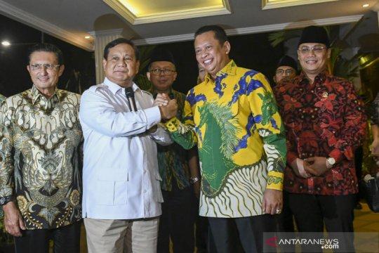 Prabowo: Pimpinan MPR 2019-2024 susunan terbaik