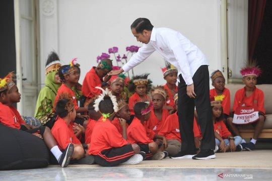 Presiden Jokowi sebut pemerintah akan evaluasi Otsus Papua