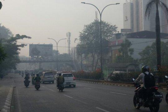 Asap kiriman, kualitas udara di Palembang kembali berbahaya