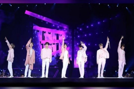 "Video ""DNA"" BTS ditonton 850 juta kali di YouTube"