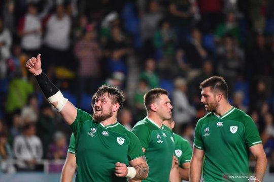 Irlandia kunci tiket perempat final setelah pecundangi Samoa