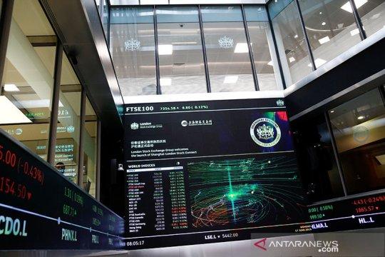 Bursa saham Inggris menguat, Indeks FTSE-100 berakhir naik 0,84 persen