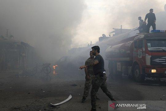 Bom mobil tewaskan 8 orang di Afrin Suriah