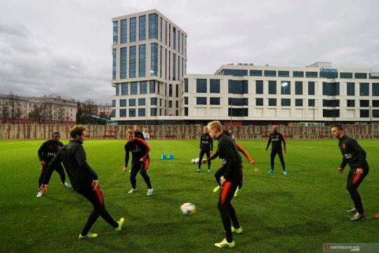 Kualifikasi Piala Eropa 2020 : Latihan Belanda jelang lawan Belarusia