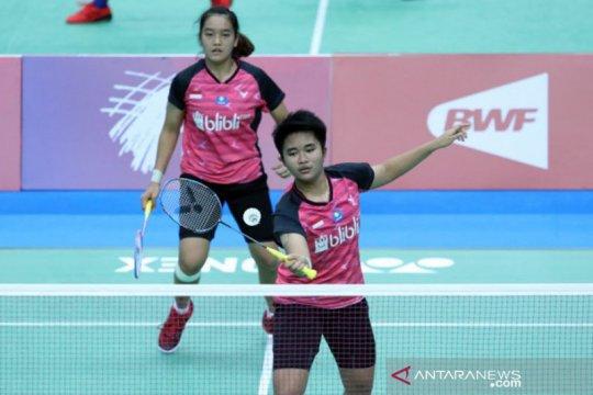 Unggulan utama Nita/Putri gagal ke semifinal WJC 2019