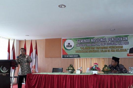 IAIN Palu hadirkan Yudi Latief berbicara tentang moderasi Islam