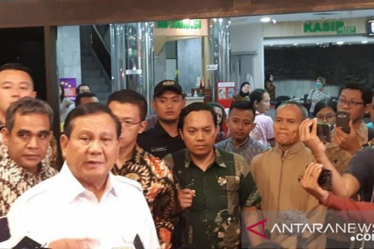 Gerindra: Prabowo sudah sampaikan sikap bantu Pemerintah