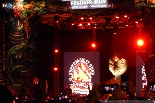 SID kenang masa lalu saat tampil di Kuta Beach Festival