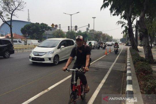 Anies minta MRT-Transjakarta akomodir fasilitas bagi pengguna sepeda