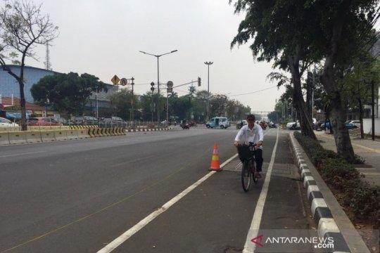 Dishub: Jakarta pernah punya jalur sepeda namun belum terintegrasi