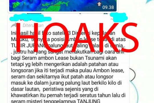 LIPI: Tidak benar Maluku ambles jika palung laut longsor