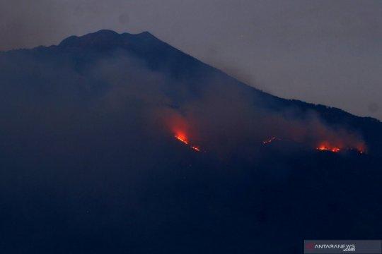 40 personel dikerahkan untuk padamkan kebakaran hutan Gunung Arjuno