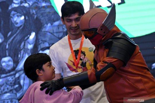 Pahlawan super Indonesia di ajang Comic Con