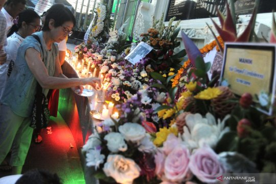 Masyarakat dan keluarga korban peringati 17 tahun tragedi bom Bali