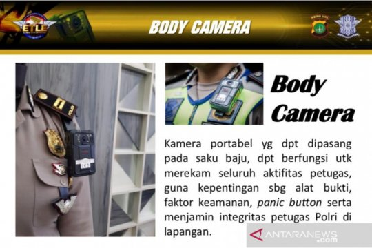 "Anggota Ditlantas Polda Metro dilengkapi ""body camera"" pelindung diri"