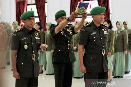 Kolonel Inf Alamsyah Dandim Kendari gantikan Kolonel Hendi Suhendi