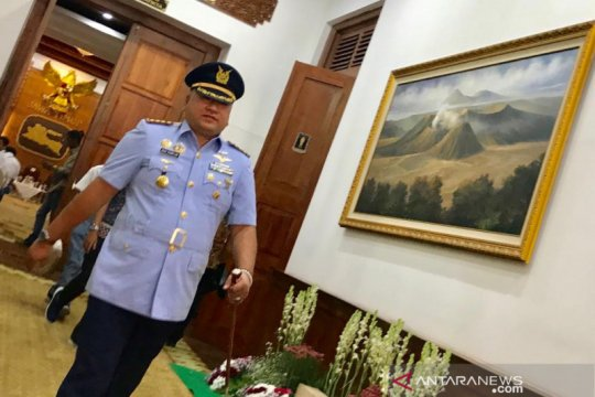 Danlanud Muljono tegaskan sanksi Peltu YNS tunggu keputusan pimpinan