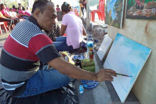 Rumah Sakit Jiwa Kupang pamer lukisan karya penderita gangguan jiwa