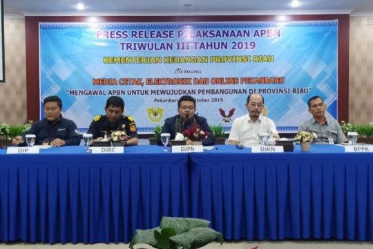 Lamban arus administrasi, Riau terancam gagal dapat DAK Rp1,3 triliun