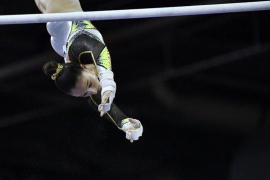 Nina Derwael, Max Whitlock sabet emas kejuaraan dunia senam