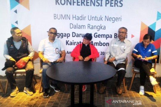 BUMN akan berpartisipasi dalam pemulihan pascagempa di Maluku