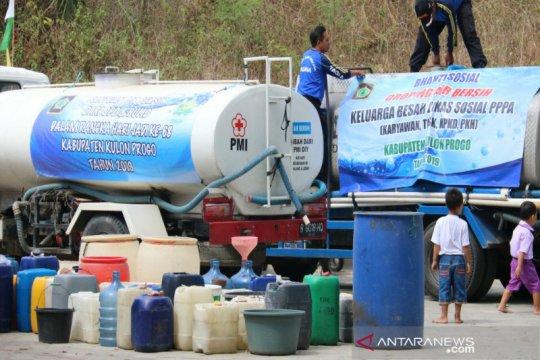 Jumlah warga terdampak kekeringan di Kulon Progo meningkat